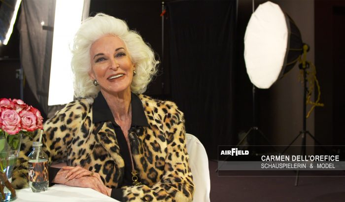 Carmen dell'Orefice Interview Airfield