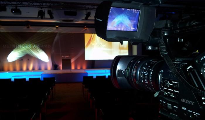 Live-Camera at Meininger Award Ceremony